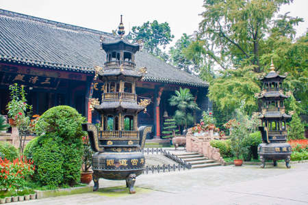 wuhou Temple in Chengdu China