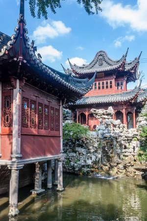 Yu Garden in Shanghai, China