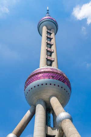 Oriental Pearl TV Tower in Shanghai
