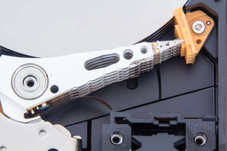 disassembly: disassembly hard drive disk and its components