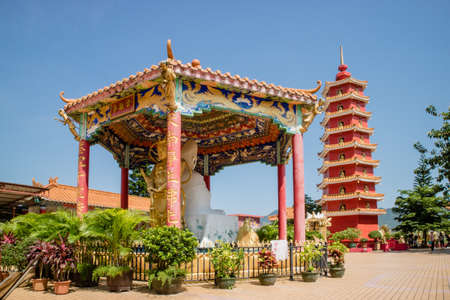 10,000 Buddha temple monastery in Shatin, Hong Kong