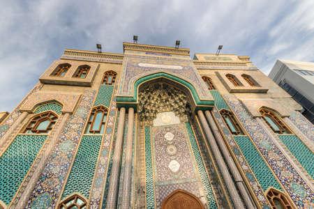 Dubai and some of its famous mosques Фото со стока