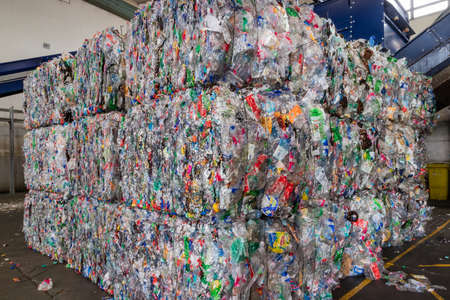 Plastics recycling centers and its raw material as collection, preparation and transformation