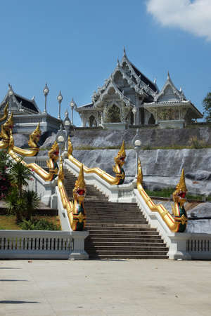 Buddhist temple in krabi, thailand