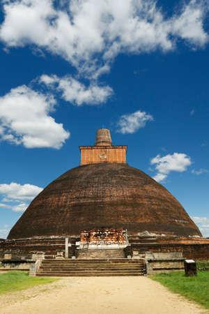Jetavanaramaya stupa, in Anuradhapura Historical Park, Sri Lanka