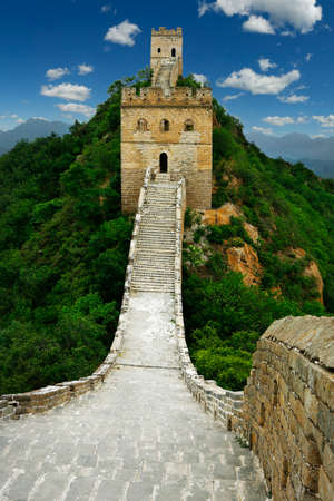 Great Wall of china Banque d'images - 108461762