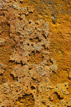 Detail of rust, corrosion of metal
