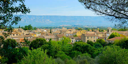 mediterranean village in the south of france, provence