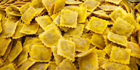 fresh ravioli sold in market