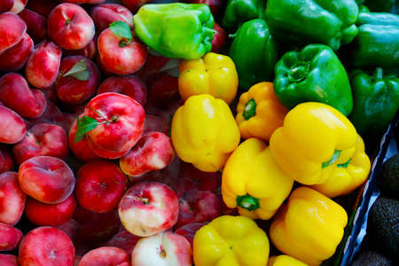 assortment of fruit and vegetable in provence, France Reklamní fotografie