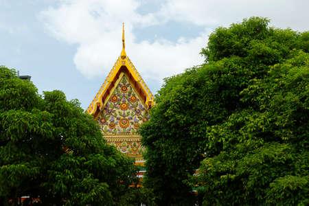 detail of buddhist temple, thailand Reklamní fotografie