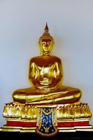 statue of buddha in buddhist temple in thailand Reklamní fotografie