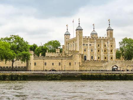 Medieval castle Tower of London, United Kingdom