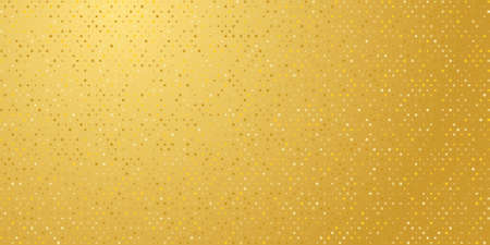 Simple golden background with spangles. Vector EPS10