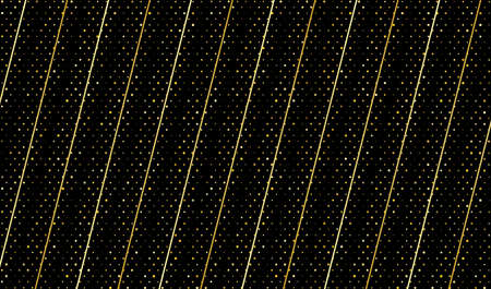 Black background with golden glitter. Vector EPS10 矢量图像
