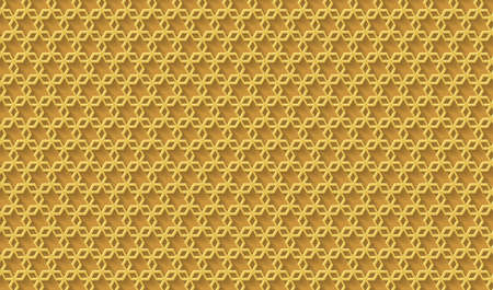 Golden background. Cut paper effect with embossed texture. Vector EPS10 免版税图像 - 151655349