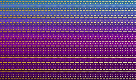 Neon background with golden stripes and glitter. Vector EPS10