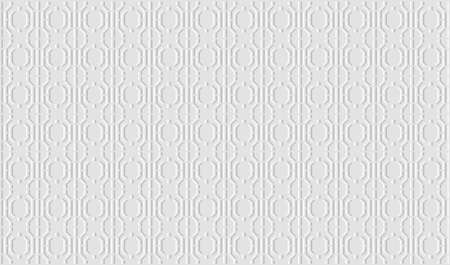 White geometric background. Paper with embossed effect texture. Vector EPS10 矢量图像