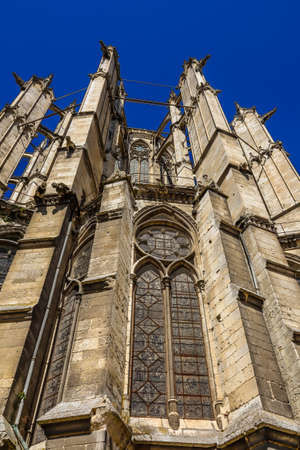 Beauvais Cathedral, the Cathedral of Saint Peter of Beauvais, Roman Catholic church is of the Gothic style in the Beauvais, France