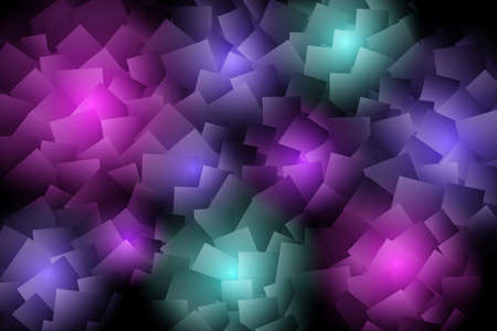 Abstract background with mosaic shapes. Bright flashes on a dark background. Vector illustration EPS10