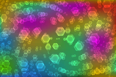 Abstract background with hexagonal shapes. Vector illustration EPS10