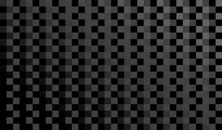 Black geometric background. Mosaic squares surface.