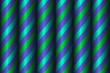 Background with multicolored spiral tubes. Vector EPS10