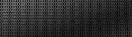 Dark technology banner. Black textured background. Vector