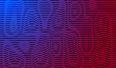 Blue and red neon textured background. Vector EPS10