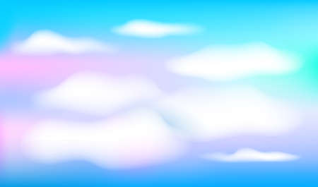 Day sky background. Blue sky and white clouds