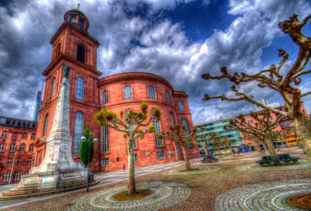 Saint Pauls Church in Frankfurt, Germany