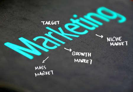 marketing concept Stock Photo - 11408114