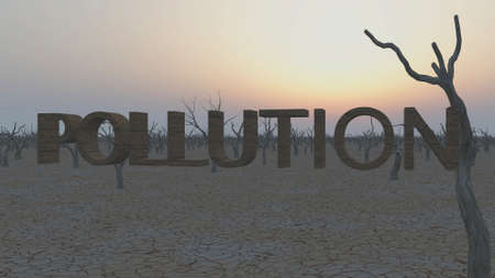 pollution concept Stock Photo - 11579575