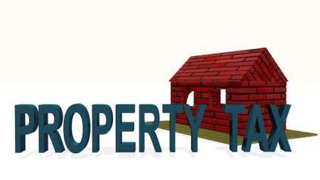 property tax illustration