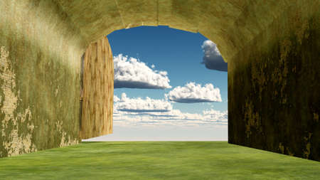 heaven entrance Stock Photo - 11866093