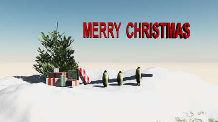 merry christmas Stock Photo - 16367913