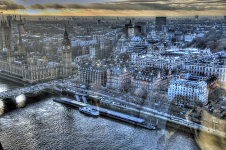 View from London Eye Stock Photo - 17047830