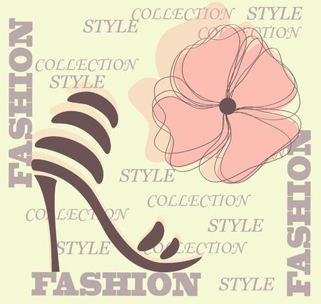 Shoes icon  Vector Stock Vector - 13282275