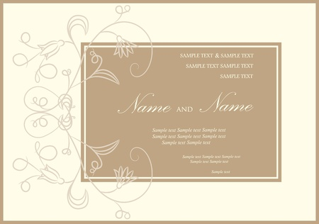 bridal shower: Wedding invitation or announcement