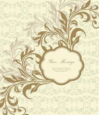 congratulations banner: Floral card