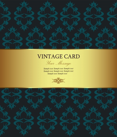 aristocratically: Vintage card
