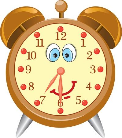 despertarse: Divertidos dibujos animados reloj de alarma