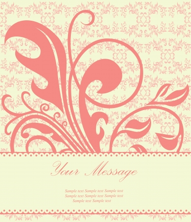 Lovely floral card Stock Vector - 15330240