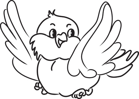 cartoon bird: Cartoon bird   Illustration