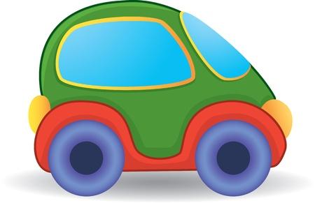 carritos de juguete: Vector del coche del juguete