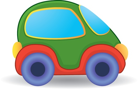 Vector toy car
