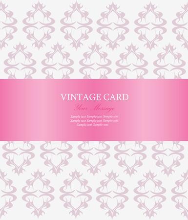anniversary card: Invitation card. Vector