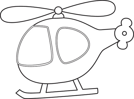 Toy helicopter.