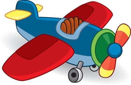 Toy plane.
