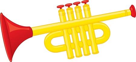 wind instrument: Trumpet toy
